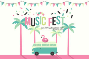 graphic assets icon iconography music festival